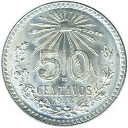 Moneda > 50centavos, 1919-1945 - México  - reverse