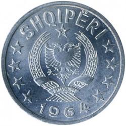سکه > 20کیندارکا, 1964 - آلبانی  - obverse