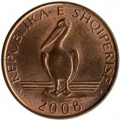Moneda > 1lek, 2008-2013 - Albania  - reverse