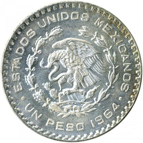 1 Peso 1964 Mexico Coin Value