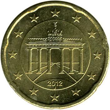 20 Eurocent 2007 2018 Deutschland Münzen Wert Ucoinnet