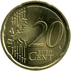 Монета > 20євроцентів, 2007-2018 - Німеччина  - reverse