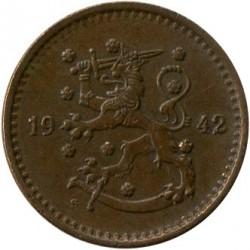 Münze > 1Mark, 1942 - Finnland  - obverse