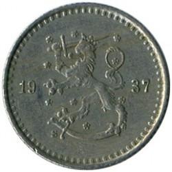 Münze > 25Penny, 1937 - Finnland  - obverse