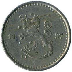 Münze > 25Penny, 1937 - Finnland  - reverse