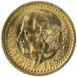 מטבע > 2½פסו, 1918-1948 - מקסיקו  - reverse