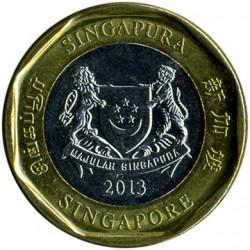 Münze > 1Dollar, 2013-2017 - Singapur   - obverse