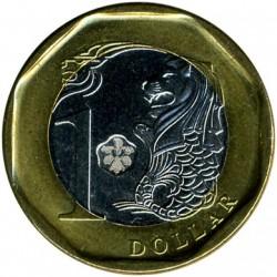 Münze > 1Dollar, 2013-2017 - Singapur   - reverse