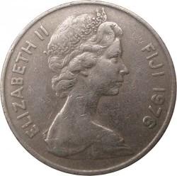 Monēta > 10centu, 1969-1985 - Fidži  - obverse