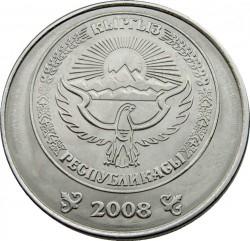 Moneta > 5somów, 2008 - Kirgistan  - obverse