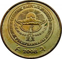 Mynt > 10tyiyn, 2008 - Kirgisistan  - obverse