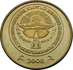 Mynt > 50tyiyn, 2008 - Kirgisistan  - obverse