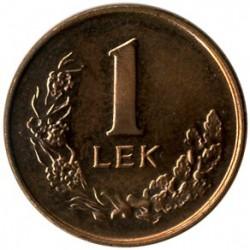 Moneda > 1lek, 1996 - Albania  - reverse