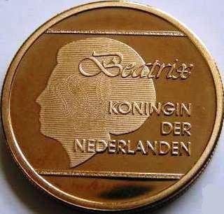 Moneda 5 Florines 2008 Aruba Obverse