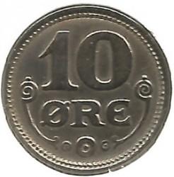 Coin > 10ore, 1920-1923 - Denmark  - reverse