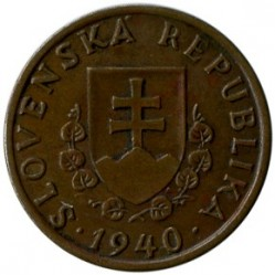 Münze > 20Heller, 1940-1942 - Slowakei   - reverse