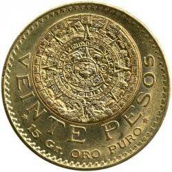 Νόμισμα > 20Πέσος, 1917-1959 - Μεξικό  - reverse