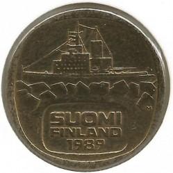 Coin > 5markkaa, 1989 - Finland  - obverse