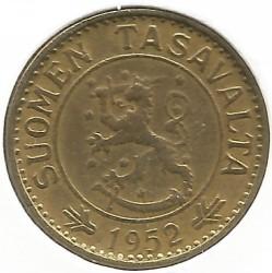 Münze > 10Mark, 1952 - Finnland  - obverse