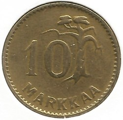 Münze > 10Mark, 1952 - Finnland  - reverse