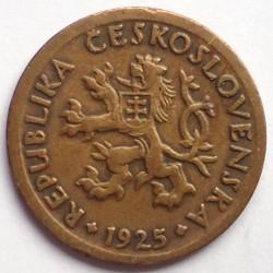 Moneta > 10halerzy, 1925 - Czechosłowacja  - obverse