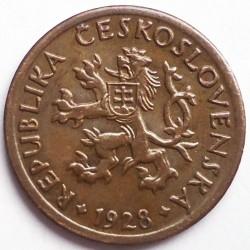 Moneta > 10halerzy, 1922-1938 - Czechosłowacja  - obverse