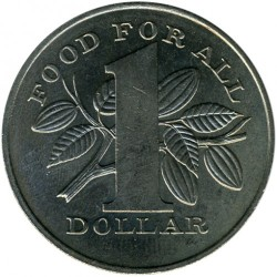 Mynt > 1 dollar, 1979 - Trinidad og Tobago  (Food and Agricultural Organization of the United Nations) - obverse