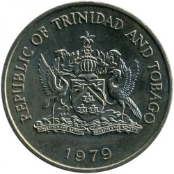 Mynt > 1 dollar, 1979 - Trinidad og Tobago  (Food and Agricultural Organization of the United Nations) - reverse
