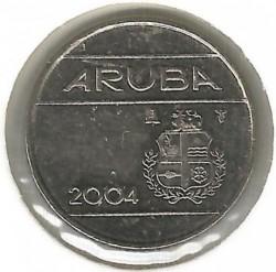 Moneta > 10centų, 2004 - Aruba  - obverse