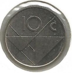 Moneta > 10centų, 2004 - Aruba  - reverse