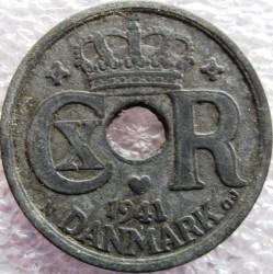 Монета > 25ере, 1941-1945 - Данія  - obverse