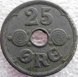 Монета > 25ере, 1941-1945 - Данія  - reverse