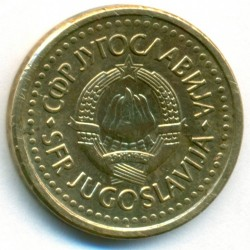 Moneda > 50para, 1990-1991 - Yugoslavia  - obverse