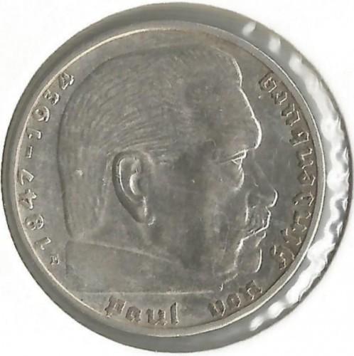 2 рейхсмарки 1938 цена монета 5 копеек россии