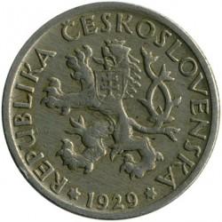Moneta > 1corona, 1922-1938 - Cecoslovacchia  - obverse