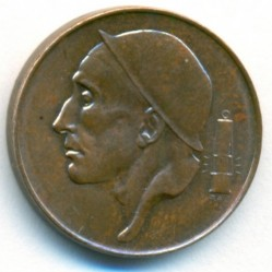 """Minca > 50centimes, 1952-1954 - Belgicko  (Nadpis v holandčine - """"BELGIE"""") - obverse"""