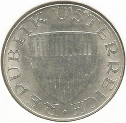 Монета > 10шилінгів, 1973 - Австрія  - reverse