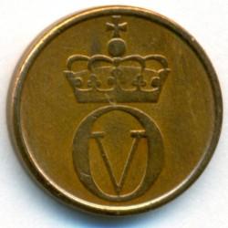 Moneda > 1öre, 1958-1972 - Noruega  - obverse