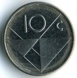 Moneta > 10centų, 2013 - Aruba  - reverse