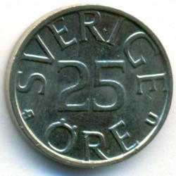Coin > 25ore, 1983 - Sweden  - reverse