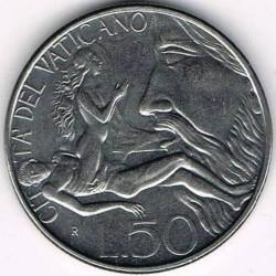 Mynt > 50lire, 1988 - Vatikanstaten  - reverse
