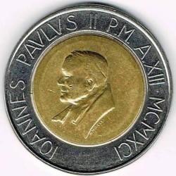Minca > 500lire, 1991 - Vatikán  - obverse