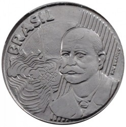 Monedă > 50centavo, 2002-2018 - Brazilia  - obverse