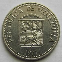 Moneta > 10sentimų, 1971 - Venesuela  - obverse