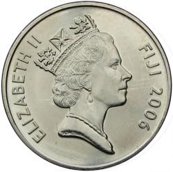 Münze > 20Cent, 1990-2006 - Fidschi   - obverse