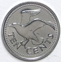 سکه > 10سنت, 2007-2016 - باربادوس  - reverse