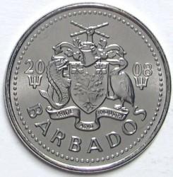 Münze > 25Cent, 2007-2011 - Barbados  - obverse