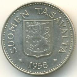 Münze > 200Mark, 1958 - Finnland  - obverse