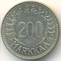 Münze > 200Mark, 1958 - Finnland  - reverse