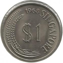 1 Dollar 1968 Singapur Münzen Wert Ucoinnet
